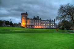 Dromoland Castle. Night HDR of luxury Dromoland Castle in west Ireland Stock Images