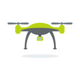 Dron with camera Royalty Free Stock Photo