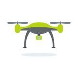Dron com câmera Foto de Stock Royalty Free