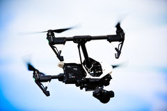 Dron DJI inspireert 1 Stock Foto's