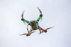 Dron flying free Royalty Free Stock Photos