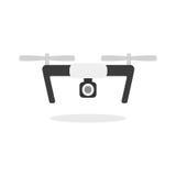 Dron mit Kamera Lizenzfreie Stockfotografie