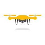 Dron mit Kamera Stockbilder