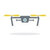 Dron mit Kamera Stockfotografie