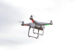 Dron que vuela libremente Fotografía de archivo