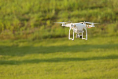 Drone Above Field Stock Photos