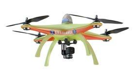 Drone ambulance closeup Royalty Free Stock Photo