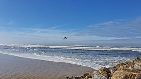 Drone at Cabedelo`s Beach