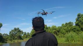 Drone Camara in a Lake Stock Photos