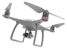 Drone with camera Royalty Free Stock Photos