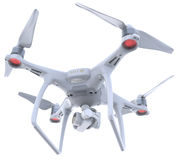 Drone with camera Royalty Free Stock Photography