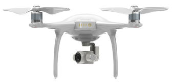 Drone with camera Stock Photography