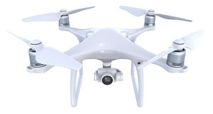 Drone with camera Stock Photos