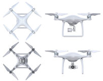 Drone with camera Stock Images
