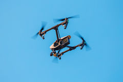 Drone  With a Camera in the Sky Stock Image