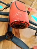 Drone crash royalty free stock photography