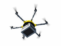 Drone delivery Royalty Free Stock Photos