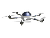Drone delivery vector illustration