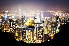 Drone delivery Royalty Free Stock Photography