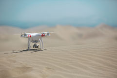 Drone in the desert Stock Photography