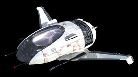 Drone design for sci-fi alien war spacecrafts Stock Images