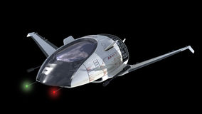 Drone design for sci-fi war spacecrafts Royalty Free Stock Photos