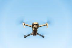 Drone DJI Mavic Pro in the air Stock Photos
