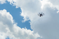 Drone filming at event Royalty Free Stock Photography