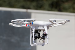 Drone in flight Royalty Free Stock Photos