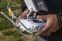 Drone Flight Controls Royalty Free Stock Image