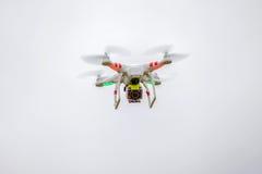 Drone in flight Stock Image