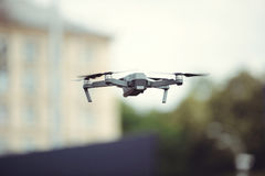 Drone in flight Royalty Free Stock Photo