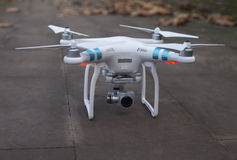 Drone on the floor royalty free stock image