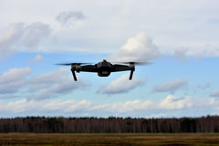 Drone on fly Royalty Free Stock Photos