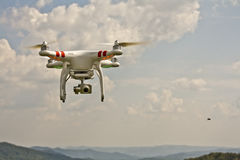 Drone flying Stock Image