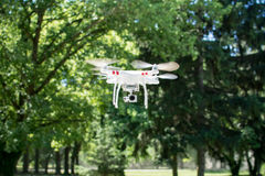 Drone flying Royalty Free Stock Photography