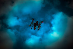 Drone flying Royalty Free Stock Photo