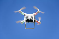 Drone is flying Royalty Free Stock Photos