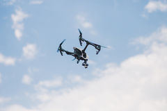 Drone. Flying in the sky Stock Photography