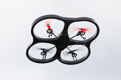 Drone with four propellers Royalty Free Stock Photography