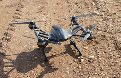 Drone on a gravel road surface. Stock Photography