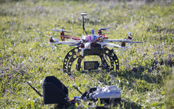 Drone in green Stock Photography