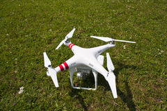 Drone on the ground Royalty Free Stock Images
