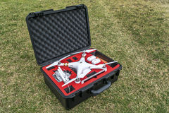 Free Drone In Waterpoof Case Stock Images - 68710064