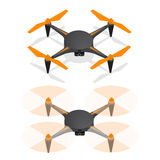 Drone Isometric View. Vector Royalty Free Stock Images