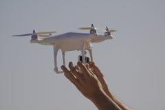 Drone launch Stock Photo