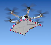 Drone with the letters Stock Image