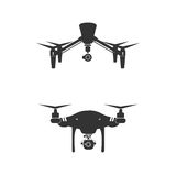 Drone Logo Design Icon Technology Camera Vector Stock Photos