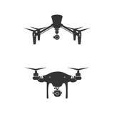 Drone Logo Design Icon Technology Camera Vector