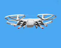 Drone with missiles. Royalty Free Stock Photos
